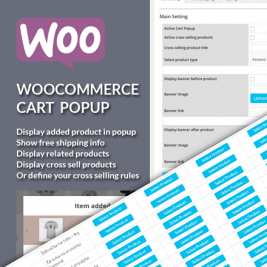 WooCommerce Cart Popup