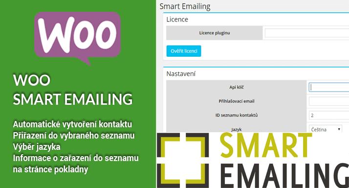 Aktualizace pluginu Woo SmartEmailing
