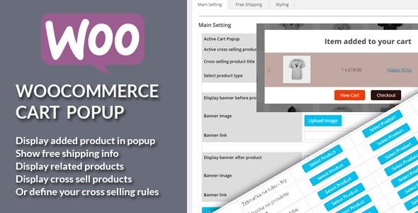 WooCommerce Cart Popup plugin je kompatibilní s WooCommerce 3.0