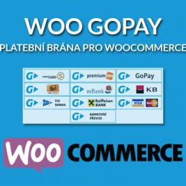 Woo GoPay platební brána