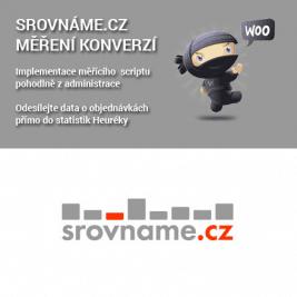 WooCommerce Srovnáme.cz měření konverzí