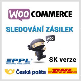 WooCommerce Sledování Zásilek