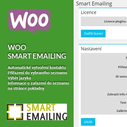 Aktualizace pluginu Woo Smart Emaling na verzi 1.1.8