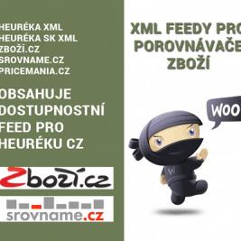 XML Feedy pro porovnávače