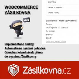 WooCommerce Zásilkovna