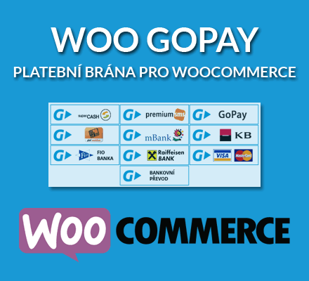 Aktualizace pluginu Woo GoPay 2.2.6