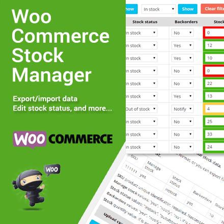 Aktualizace pluginu WooCommerce Stock Manager na verzi 1.2.2