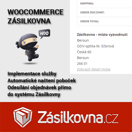 Aktualizace pluginu Zásilkovna na verzi 1.4.8