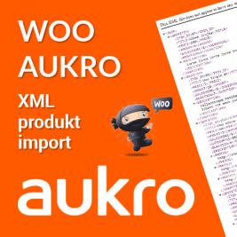 Woo Aukro XML import