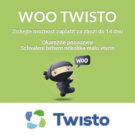 Aktualizace pluginu Woo Twisto na verzi 1.2.5