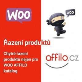 AFFILO Řazení produktů