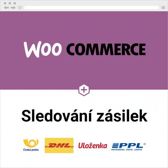 WooCommerce sledování zásilek pro české dopravce