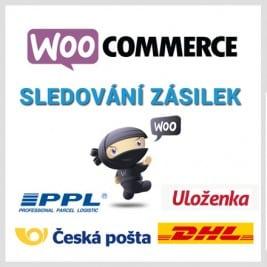 WooCommerce Sledování Zásilek CZ verze