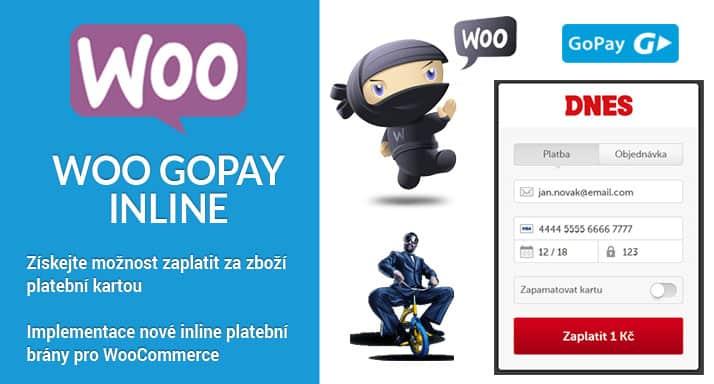 Aktualizace pluginu Woo GoPay Inline na verzi 1.5.8