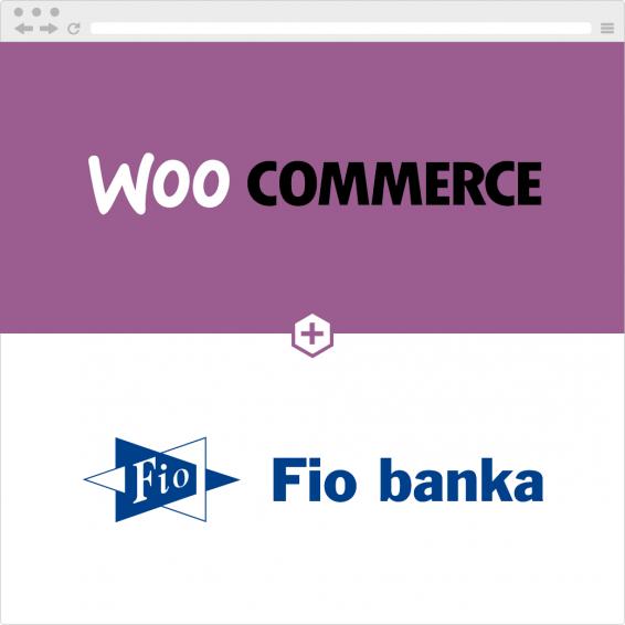 Propojení WooCommerce e-shopu a účtu u Fio Banky