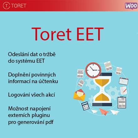 Aktualizace pluginu Toret EET na verzi 2.4