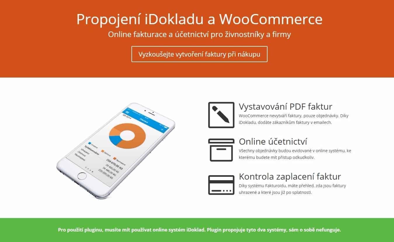 Dokumentace pro plugin Woo iDoklad je dostupná online