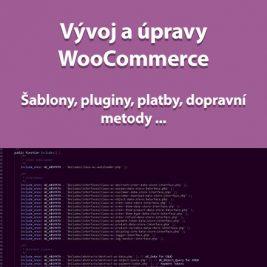 Vývoj a úpravy WooCommerce školení