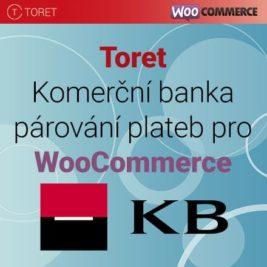 Toret Komerční Banka párování plateb