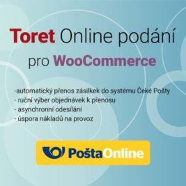 Toret Online Podání