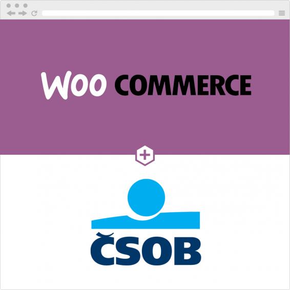 Propojení WooCommerce e-shopu a účtu u ČSOB