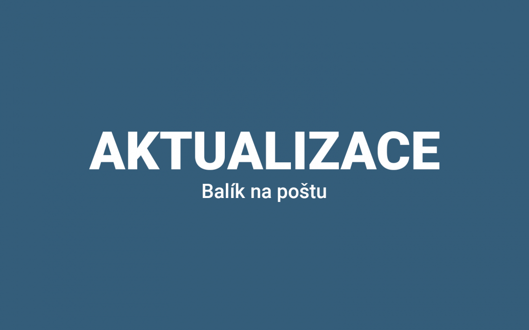 Balík na Slovenskou poštu 2.0