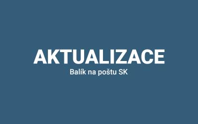 Aktualizace pluginu Woo Balík na Poštu SK 1.1.3