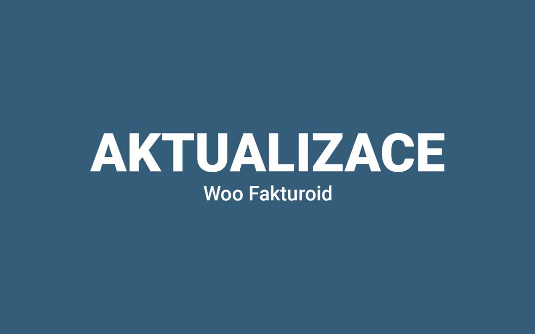 Aktualizace pluginu Fakturoid 1.5.8
