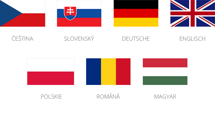 Přeloženo do 7 jazyků