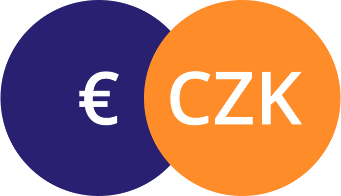 Platba CZK i EUR