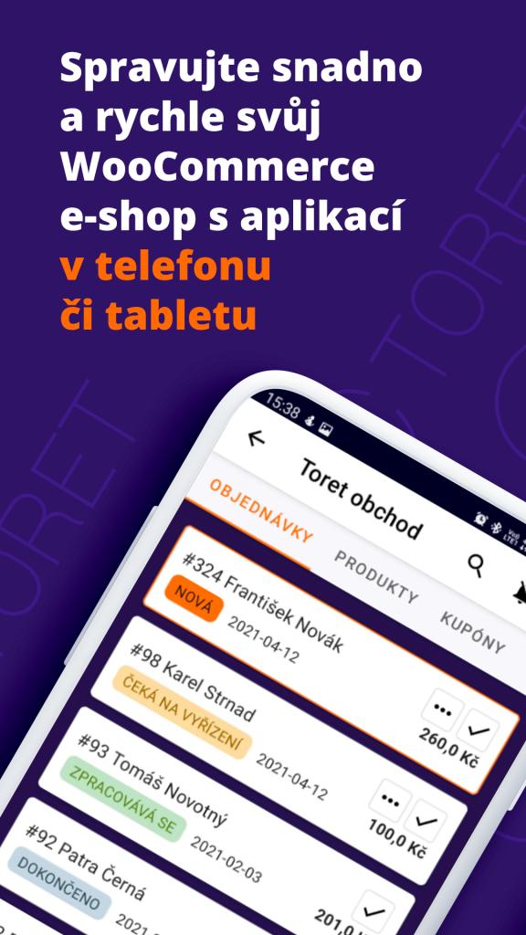 Toret WooCommerce Manager - Spravujte snadno a rychle svůj WooCommerce e-shop