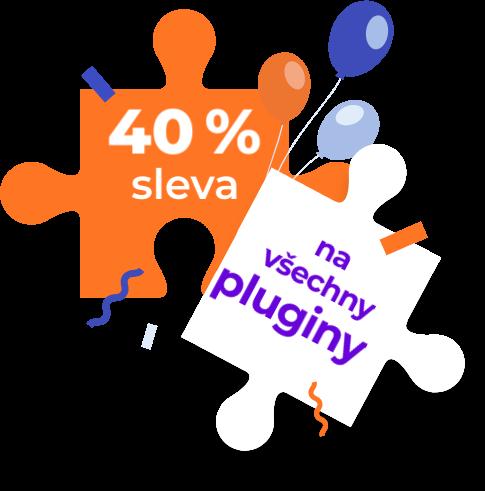 Pluginy sleva 40%