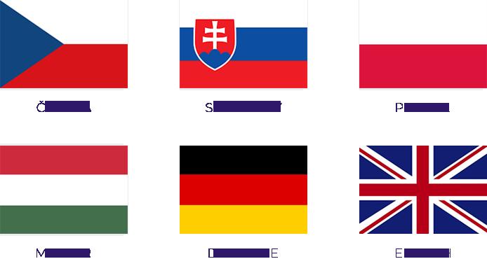 Toret GLS - Přeloženo do 6 jazyků