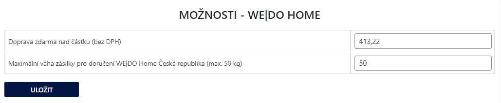 Toret WEDO - Doprava za peníze i zdarma